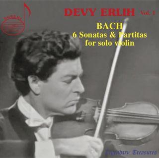 Devy Erlih, Vol. 1: Bach Sonatas & Partitas
