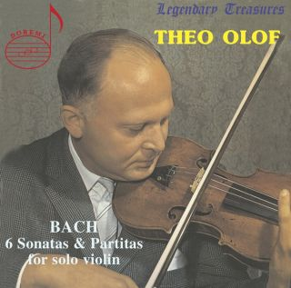 Theo Olof, Vol. 1: Bach Sonatas & Partitas