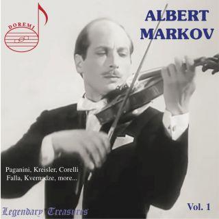 Albert Markov, Vol. 1: Paganini, Kreisler & More