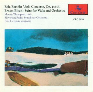 Bartok, B.: Viola Concerto / Bloch, E.: Viola Suite