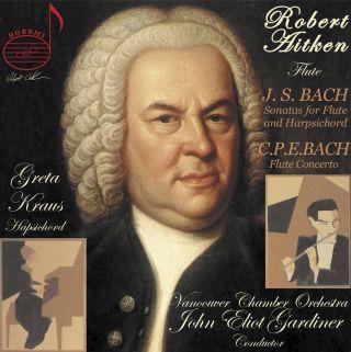 J.S. Bach: Flute Sonatas - C.P.E. Bach: Flute Concerto