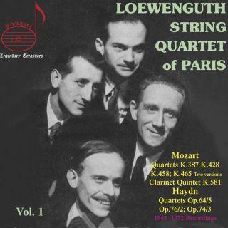 Löwenguth Quartet Vol.1