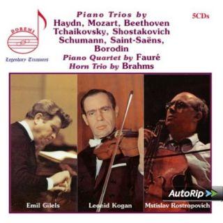Piano Trios By Haydn, Mozart, Tchaikovsky, Schumann, Borodin .....