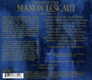 Manon Lescaut (Verona 1970)
