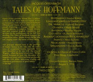 Tales of Hoffmann (Buenos Aires 1970)