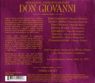 Don Giovanni (Rome 1970)