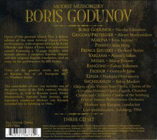 Boris Godunov - Salzburg 1966
