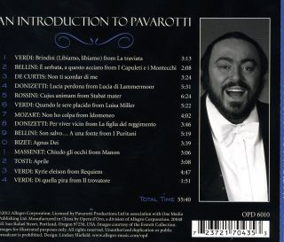 An Introduction to Pavarotti