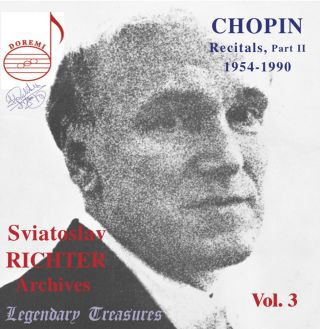 Sviatoslav Richter Archives, Vol. 3: Chopin (Live)