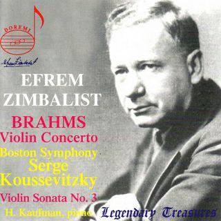 Zimbalist Spielt Brahms