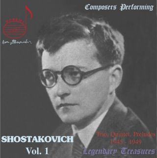 Shostakovich Als Interpret Vol.1