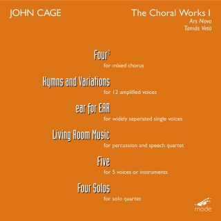 Cage: The Choral Works, Vol. 1