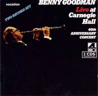 Live at Carnegie Hall & 40th Anniversary