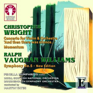 Christopher Wright - Momentum & Violin Concerto/Ralph Vaughan Williams - Symphony No.5 (new edition)