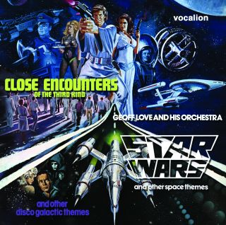 Star Wars and other space themes & Close Encounters and other disco galactic themes