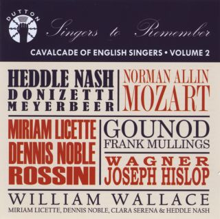Cavalcade of Enlgish Singers - Volume 2