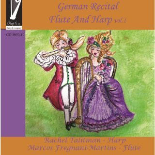 German Recital - Flute & Harp Volume 1