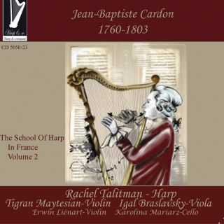 Cardon: School of Harp in France - Vol.2