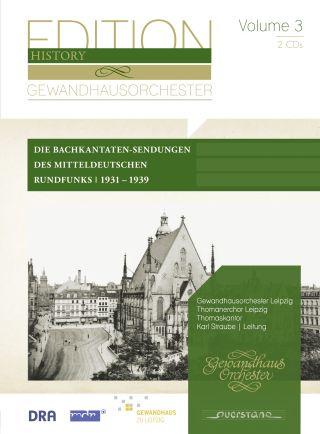 Die Bachkantaten-Sendungen des Mitteldeutschen Rundfunks  Vol. 3