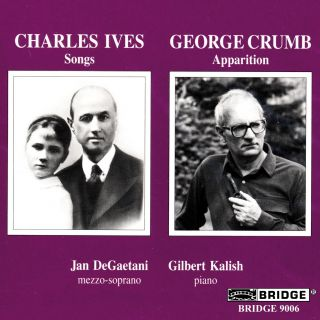 JAN DEGAETANI SINGS CRUMB & IVES