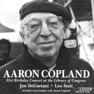 AARON COPLAND: 81ST BIRTHDAY CONCER