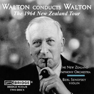 WALTON CONDUCTS WALTON / 1964 NZ TO