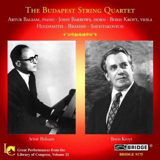 Sonata for Viola and Piano/Trio For Violin, Horn a