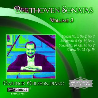 Sonatas,Vol.3 (Nos 3, 9, 10 & 25)