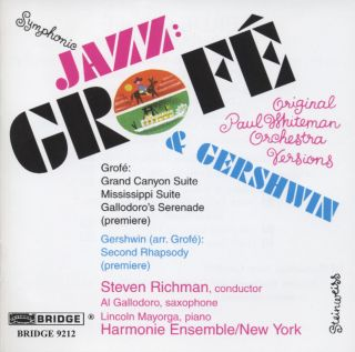 Jazz: Grofé & Gershwin/Original Paul Whiteman Orch