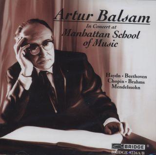 In Concert at Manhattan School of Music