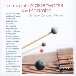 Intermediate Masterworks for Marimba