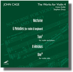 WORKS FOR VIOLIN 4: NOCTURNE / 6 ME
