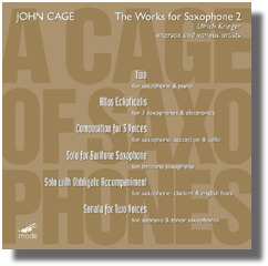 A Cage Of Saxophones Vol.2