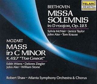 MISSA SOLEMNIS/MASS C MINOR
