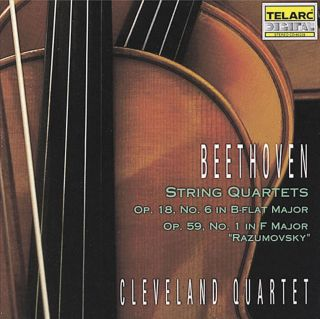 STRING QUARTETS OP.18, NO.6/ OP.59,
