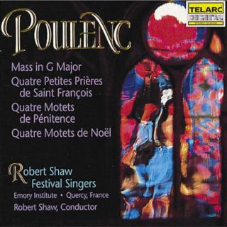 MASS IN G MAJOR / QUATRE MOTETS
