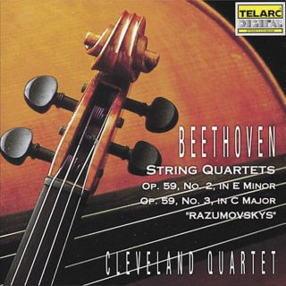 STRING QUARTETS OP.59, NO.2 & 3