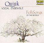 FOLK SONGS OF THE WORLD (A CAPELLA)