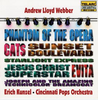 PHANTOM OF THE OPERA/CATS/EVITA/JES