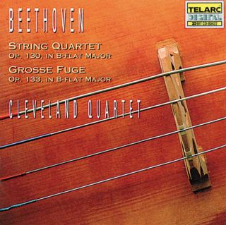 STRING QUARTET OP. 130/GROSSE FUGE