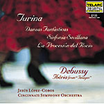 MUSIC OF TURINA AND DEBUSSY