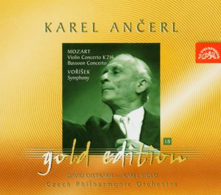 Ancerl Gold Edt. 18: Violin Concerto/Bassoon Conce