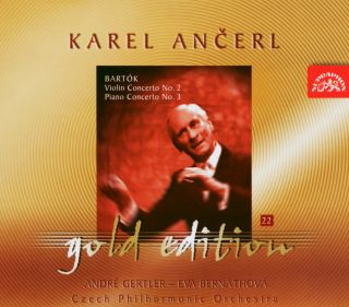 Ancerl Gold Edt. 22:Violin Concerto No.2/Piano Con
