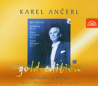 Ancerl Gold Edt. 25:Symphony No.5/Piano Concerto/