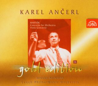 Ancerl Gold Edt. 26:Viola Concerto/Orchestra Conce