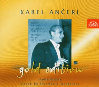 Ancerl Gold Edt. 27:Shelomo/Cello Concerto/
