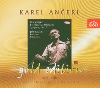 Ancerl Gold Edt.37: Serenade for Orchestra/Symph.2