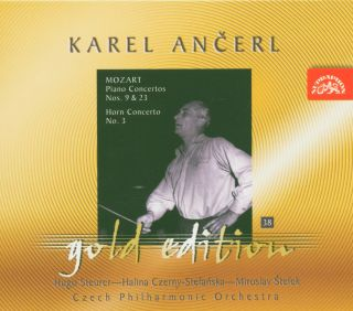 Ancerl Gold Edt.38: piano Concerto in A, E