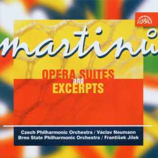 Opera Suites And Excerpts