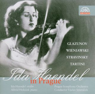 Ida Haendel in Prague